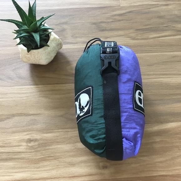 Eno Hammock Doublenest Nylon Camping Swing Purple